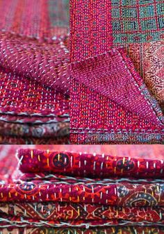 ROTI KAPDA MAKAN: Ralli Quilts, such beautiful colors.....