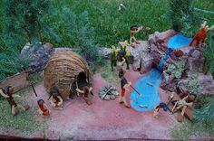 The Eastern Woodlands Indian Diorama