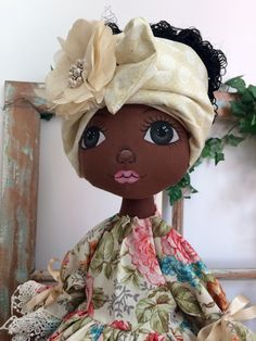 Best 12 Love the eyes and mouth Diy Art Dolls, Doll Crafts, African Dolls, African American Dolls, Tilda Toy, Sewing Dolls, Waldorf Dolls, Homemade Crafts, Soft Dolls