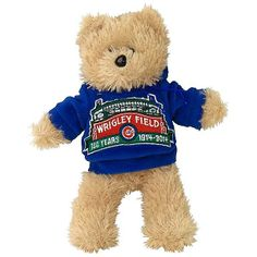 Chicago Cubs Wrigley Field 100 Year Fuzzy Bear by Forever Collectibles | Sports World Chicago $14.95  #ChicagoCubs @Chicago Cubs #Wrigley100