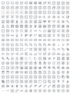 Free Photoshop Vector Icons For Web And User Interface Design