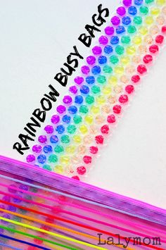 17 MUST TRY Rainbow Busy Bags on Lalymom