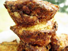 Egy finom Karfiolfasírt muffinformában Banana Bread, Vegetarian Recipes, French Toast, Bacon, Muffin, Low Carb, Breakfast, Diet, Bulgur