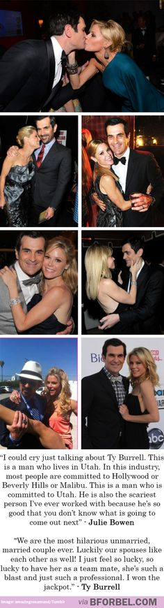 Julie Bowen and Ty Burrell are the SWEETEST