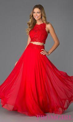 Red prom dress // promgirl.com