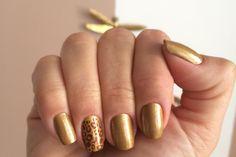 Esmalte da Semana: Dourado