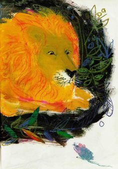 Brian Wildsmith's Illustrations for 'The Lion a... - Book Artists and Their Illustrations - Quora