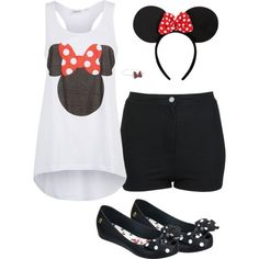 """Minnie mousing"" by hulahipshaker on Polyvore"