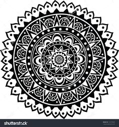 stock-vector-black-indian-ornament-mandala-121275820.jpg (1495×1600)