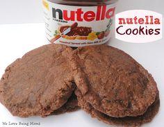 We Love Being Moms!: Nutella Cookies