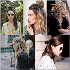 Peinados: 'half up bun' es tendencia esta temporada