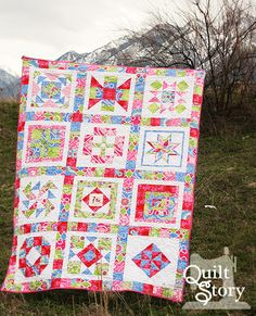 Quilt Story: block of the month