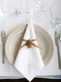 Servilletas de origami para Navidad | Aprender manualidades es facilisimo.com
