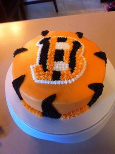 Cincinnati Bengals Cake Cuteness Pinterest Cincinnati Cake