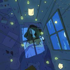 Image about girl in illustration 💙 by Art And Illustration, Character Illustration, Illustration Pictures, Cartoon Kunst, Cartoon Art, Aesthetic Art, Aesthetic Anime, Pretty Art, Cute Art