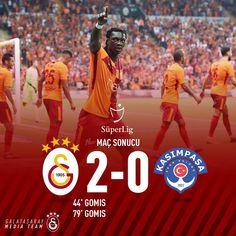 """Galatasaray (@galatasaray): """"Maç Sonucu: #Galatasaray 2-0 Kasımpaşa #GSvKSM"""""""