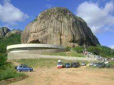 Santuário de Nossa Senhora de Fátima na Pedra da Santa, Parque Estadual Pedra da Boca, município de Araruna/Paraíba