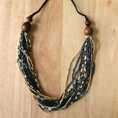 Durable and beautiful, this necklace will stand up to all your summer outdoor activities!