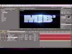 Tuts+ Hollywood Movie Title Series: Men In Black 3 - Tuts+ 3D & Motion Graphics Tutorial