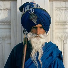 Portraits of the Nihang Sikhs, the Eternal Army | PDN Photo of the Day
