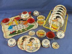 : antique tin plates - pezcame.com