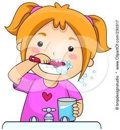 brush teeth clipart - Google Search