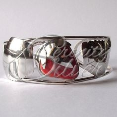 SerenitySilver.com ~ Hand Made Sterling Silver and Wampum Quahog Bracelets by Vince Gant