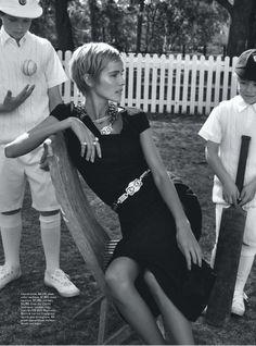 Isabel Lucas by Nicole Bentley for Vogue Australia