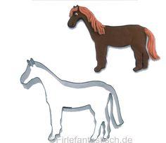 Keksausstecher Pferd - Kindergeburtstag Pferdegeburtstag