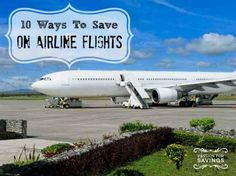 How to Save Money on Airline Flights