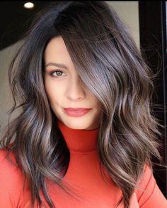 Brown Blonde Hair, Dark Hair, Soft Hair, Medium Hair Styles, Short Hair Styles, Hair Medium, Medium Brunette Hair, Brunette Shoulder Length Hair, Dark Brunette