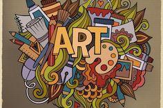"""Livret et fiche pour l'approche artistique et la connaissance de l'histoire de l'art  qui invite à """"faire à la manière de """" grand peintre.  A télécharger gratuitement. Esprit Montessori"""