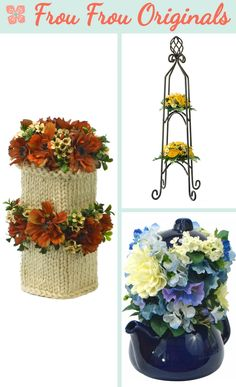 Breistapel is the two tier version of ''Breitoren'': a hand-knitted column is combined with tasteful flower arrangements of cosmos, waxflower and boxwood.
