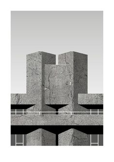 Royal National Theatre '76 (Grey)