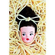Etsy の noodle print 8 x 12 CAROLYN GUINE by boopsiedaisy