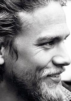 Charlie Hunnam- WORD OF ADVICE MEN STOP WITH THAT PRETTY BOY SHIT......