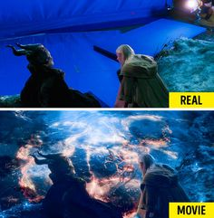 20 Shots Revealing How Famous Movies Changed After Special Effects – Viral News Room Dawn Of The Planet, Planet Of The Apes, Real Movies, Famous Movies, Movie Special Effects, The Shape Of Water, Crimes Of Grindelwald, Home For Peculiar Children, Days Of Future Past