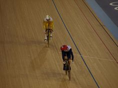 Olympics Day 11 Track Cycling, via Flickr.