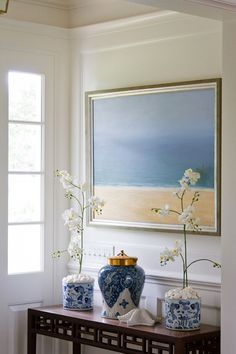 Coastal vignette | SLC Interiors
