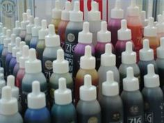 How to Make Alcohol Ink for Rubber Stamping