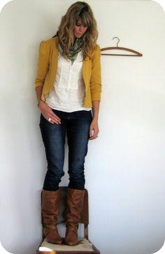 5 ways to refashion a sweatshirt! from Infarrantly Creative. cute blazer idea, vest tutorial, and contrasting hood tute