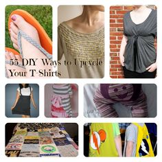 55 DIY Ideas To Upcycle Your Favorite (Or Not So Favorite) T-Shirts! - Big DIY IDeas