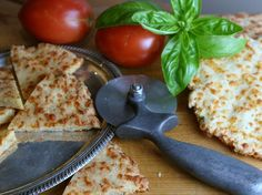 Cheese bread pizza crust - Almond flour (gluten free)