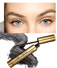 QUICK BEAUTY FIXES - Max Out Your Lashes: If you're not inclined to use falsies, try Too Faced's mascara. It contains nylon fibers that add major length and volume.Too Faced Better than False Lashes mascara. Backstage at Isabel Marant