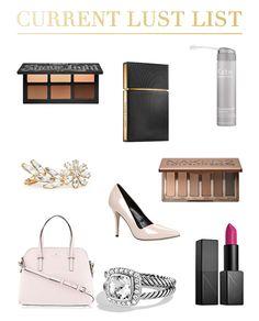 Current Lust List | The Beauty Blog  https://caitlynmichelle.wordpress.com/2015/01/08/current-lust-list/
