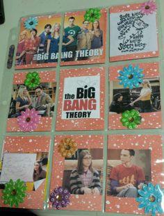 Big Bang Theory Pocket Letter Created by Christina Ellis