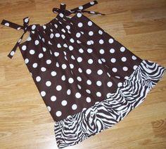 fall pillowcase dress..must make sometime.