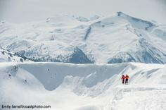 Whistler Blackcomb resort in supernatural BC, Canada during the Spring season. Photo by: Coast Mountain Photography