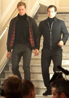 Armie Hammer and Henry Cavill -The Man From U.N.C.L.E.