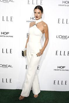 Alessandra Ambrosio in David Koma | 23rd Annual ELLE Women Awards